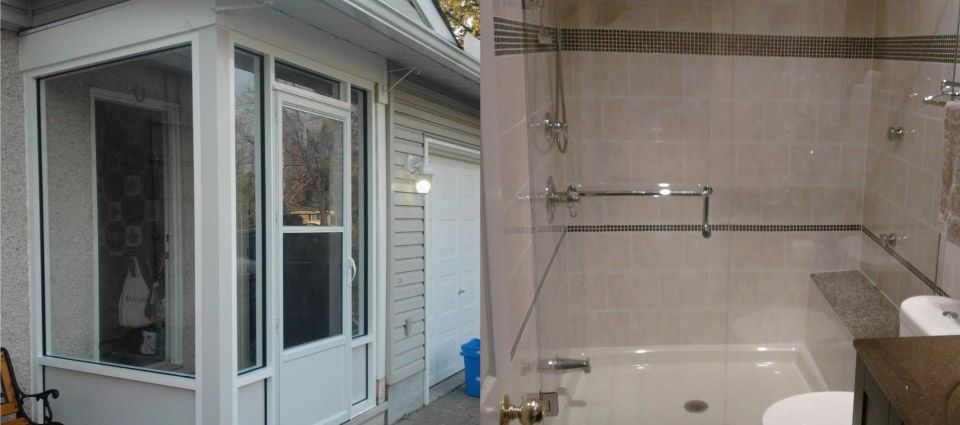 Sun room glass | Shower glass